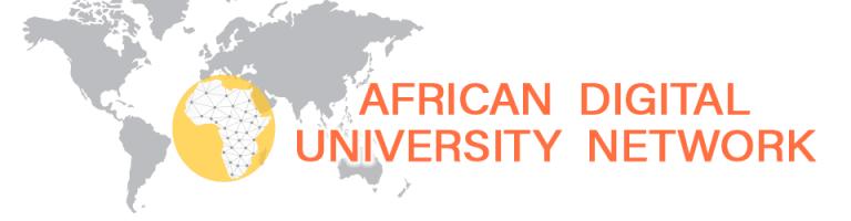 The African Digital University Network logo